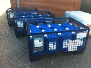Demiwater is extreem schoon water en wordt geleverd door Aqua Solid BV