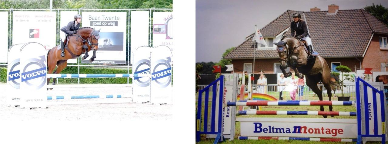 Sponsoring Aqua Solid BV: een talentvolle jonge amazone uit Hoge Hexel